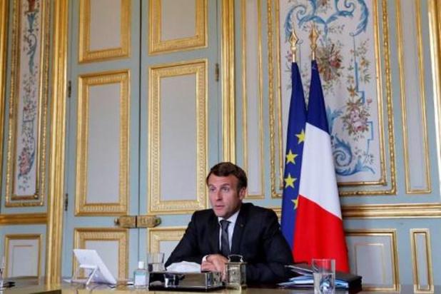 Entretien télévisé du président Macron le 14 juillet sur France 2 et TF1