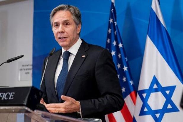 """Onrust Midden-Oosten: VS beloven hulp bij wederopbouw Gaza, maar """"mag niet ten goede komen van Hamas"""""""