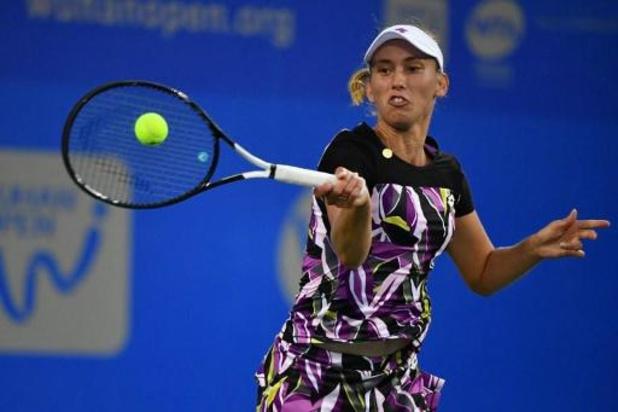 WTA Wuhan: Elise Mertens éliminée au deuxième tour par Sofia Kenin, 17e joueuse du monde