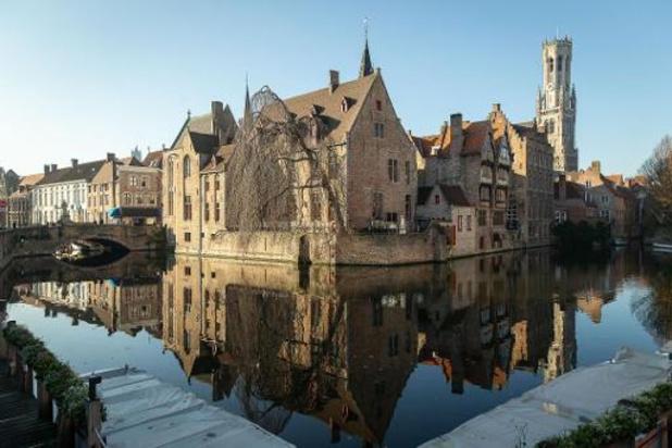 Kapel uit achtste eeuw ontdekt bij graafwerken in Brugge