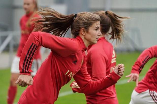 Marie Minnaert vervangt Elena Dhont tegen Zwitserland