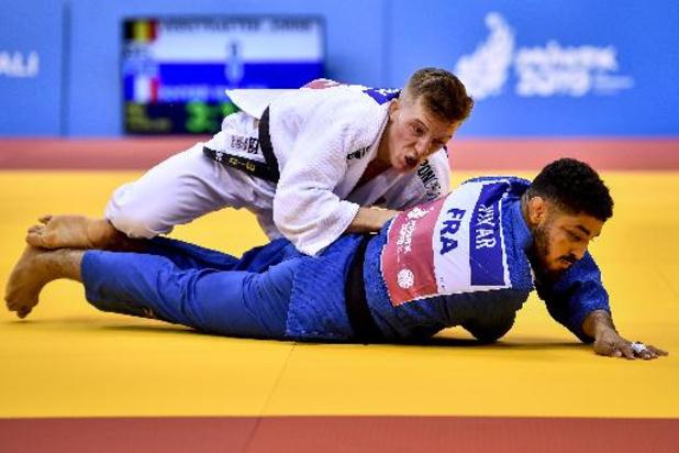 Jorre Verstraeten en or en -60kg à Antalya, sa première médaille en Grand Chelem