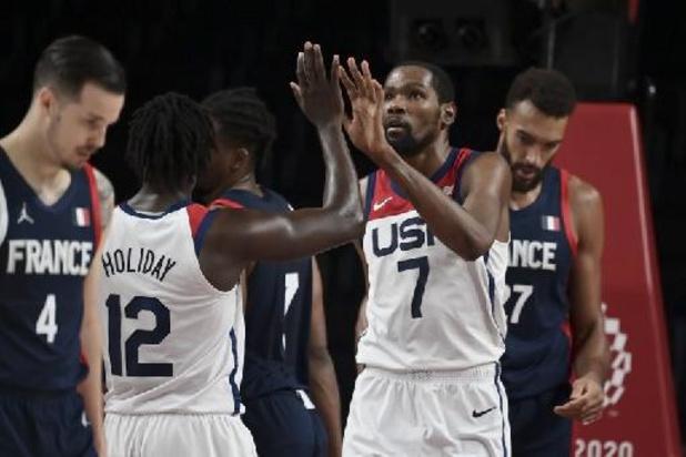 OS 2020 - Amerikaanse mannen veroveren nieuw olympisch basketgoud na zege tegen Frankrijk
