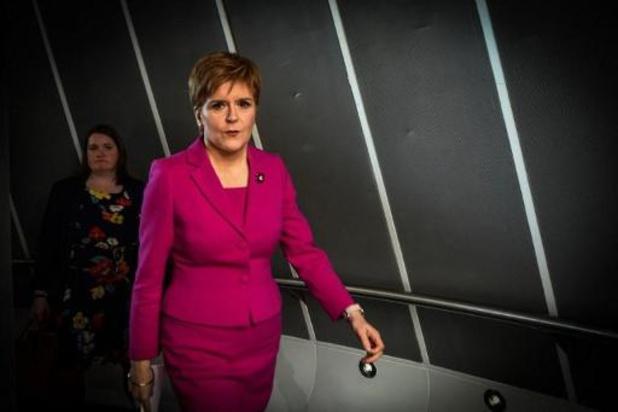 Sturgeon: Londen moet volgend jaar stemmen over Schotse onafhankelijkheid mogelijk maken