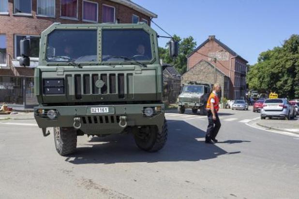 Noodweer - Ruim 300 militairen actief in rampgebied