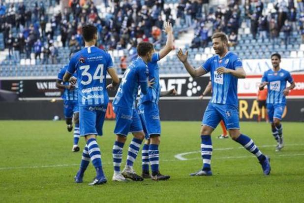 Jupiler Pro League - Gand n'a pas fait dans le détail contre le Beerschot