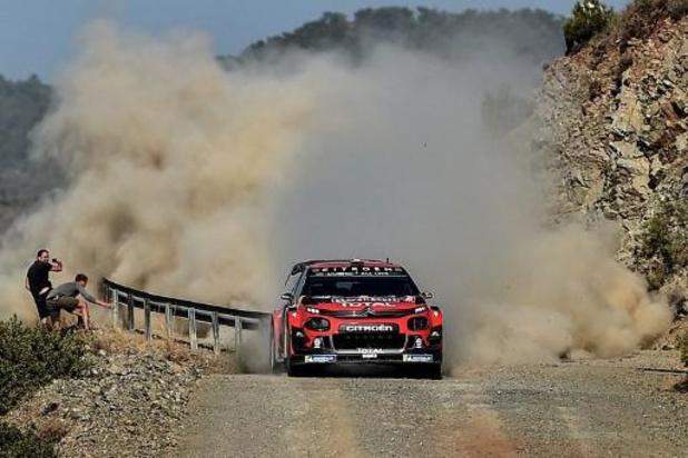 Sebastien Ogier leader après la 2e journée du Rallye de Turquie, Thierry Neuville 8e