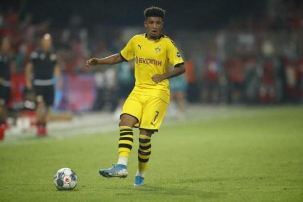 Jadon Sancho écope d'une amende de 100.000 euros pour être rentré en retard à Dortmund