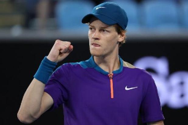 ATP Miami - L'Italien Jannik Sinner premier finaliste