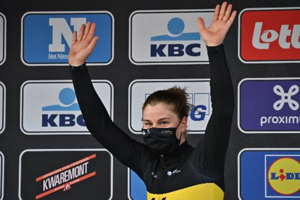 Ronde van Vlaanderen - Lotte Kopecki wurmt zich tussen Nederlandse favorietes