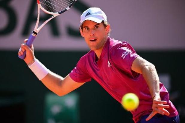 Roland-Garros - Un petit tour et puis s'en va pour Thiem, double finaliste, battu d'entrée par Andujar