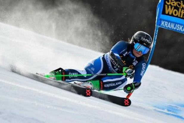 Coupe du monde de ski alpin: Alice Robinson gagne le géant de Kranjska Gora
