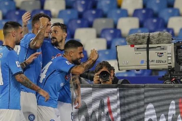 Belgen in het buitenland - Napoli blijft winnen, Mertens eerste keer terug in selectie