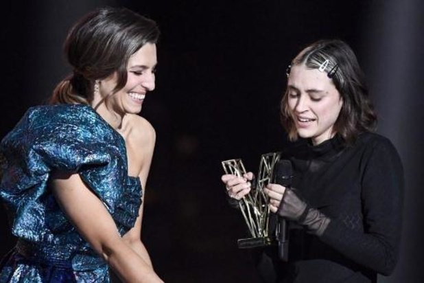 France: Pomme sacrée artiste féminine aux Victoires de la musique
