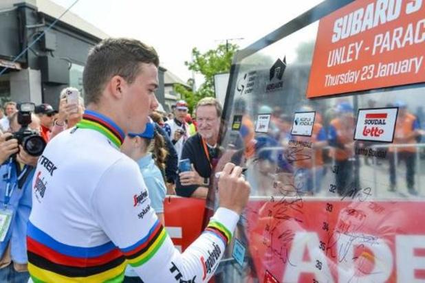 Le champion du monde Mads Pedersen prolonge avec Trek-Segafredo