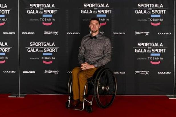 Joachim Gérard is Paralympiër van het Jaar
