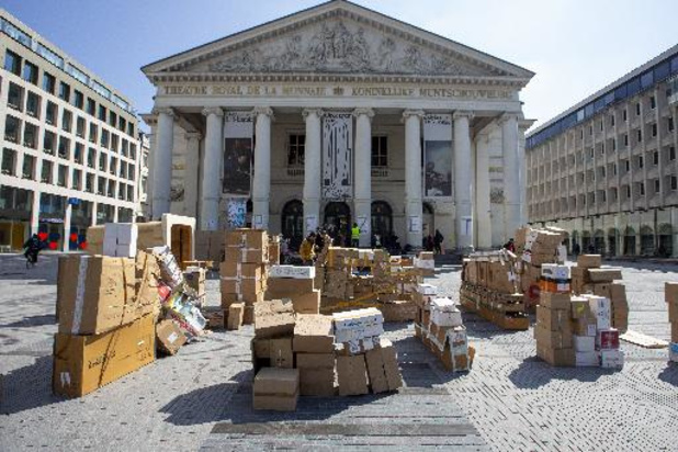 Coronavirus - Occupation de la Monnaie à Bruxelles: le collectif et la direction du théâtre négocient