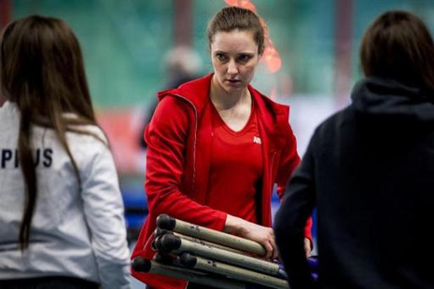 Championnats d'Europe d'athlétisme en salle - Fanny Smets termine 7e en finale de la perche avec une barre franchie à 4m45