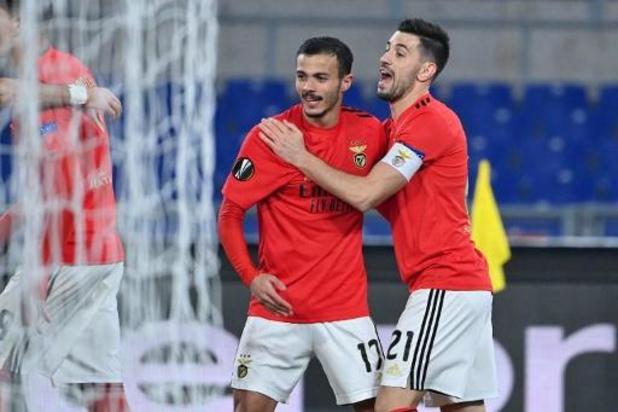 Belgen in het buitenland - Benfica, met Jan Vertonghen, houdt Arsenal in bedwang