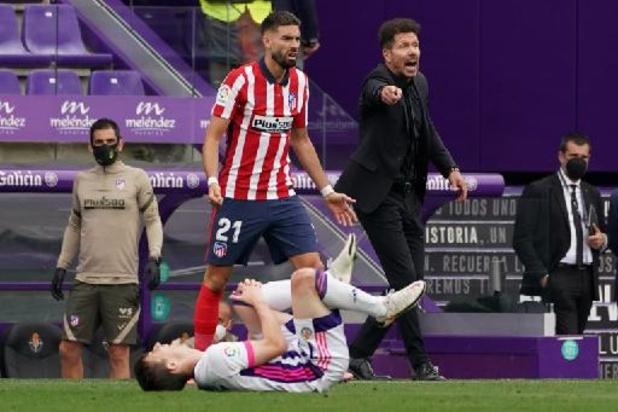 La Liga - Atlético Madrid en Yannick Carrasco pakken elfde landstitel