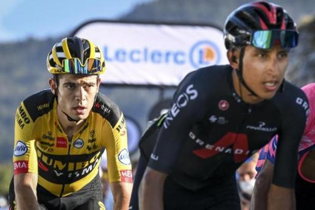 """Tour de France - Van Aert: """"Bernal zat echt diep"""""""