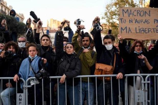 """Loi """"sécurité globale"""": des milliers de manifestants dans plusieurs villes de France"""