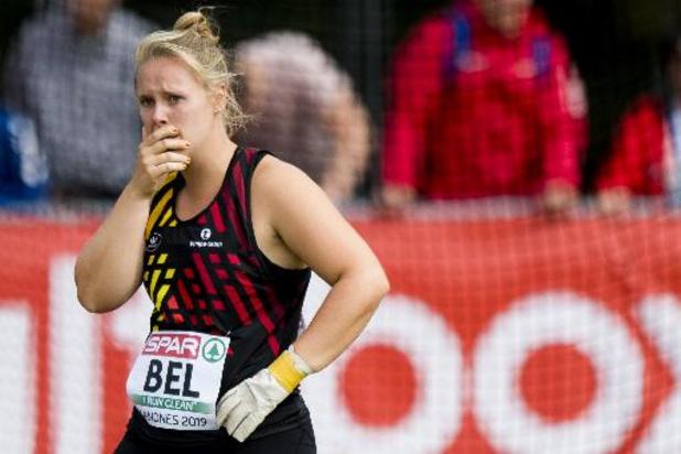 Vlaams kampioenschap atletiek - Manon Depuydt en Vanessa Sterckendries kunnen in Lebbeke geen slag slaan richting Tokio