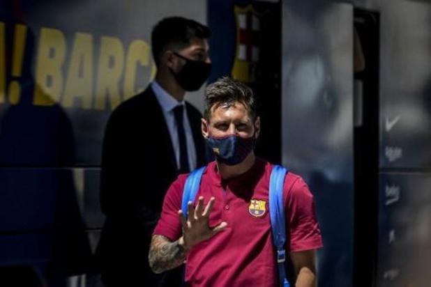 Messi blijft dan toch bij Barcelona: 'Ik was zeker dat ik kon vertrekken'