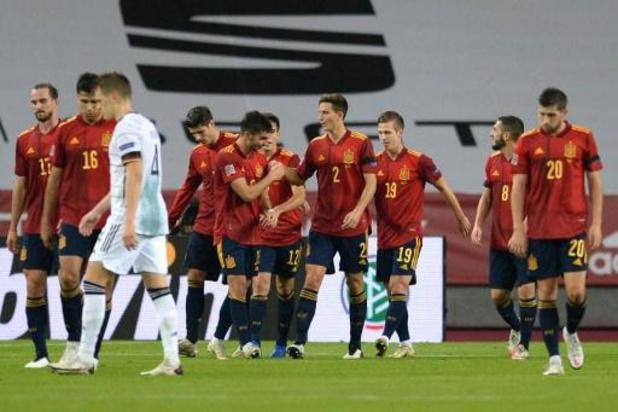 Nations League - Spanje plaatst zich na demonstratie tegen Duitsland voor Final Four