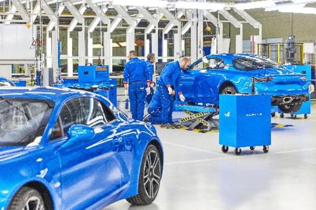 Vier Renault-fabrieken bedreigd waaronder die van Alpine