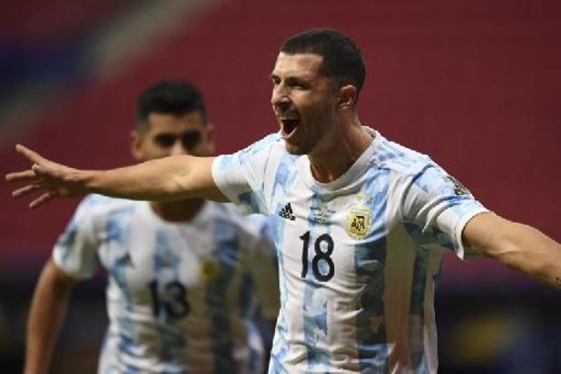 Copa America - L'Argentine bat l'Uruguay par le plus petit écart