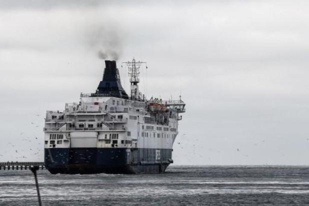 Des traversées en ferry Douvres-Calais supprimées en raison de la faible demande