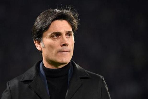 La Fiorentina se sépare de Vincenzo Montella