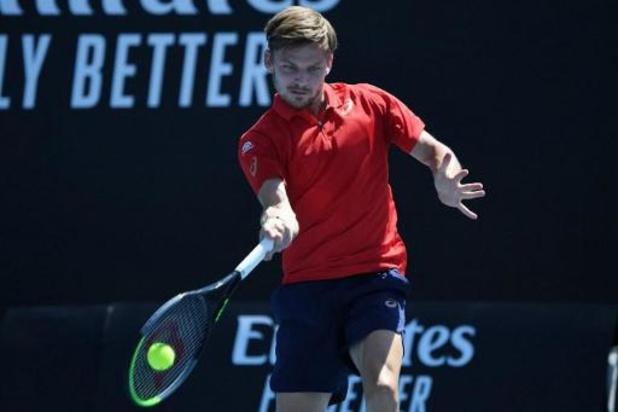 Australian Open - David Goffin moet meerdere erkennen in ongeslagen Andrey Rublev en strandt in derde ronde