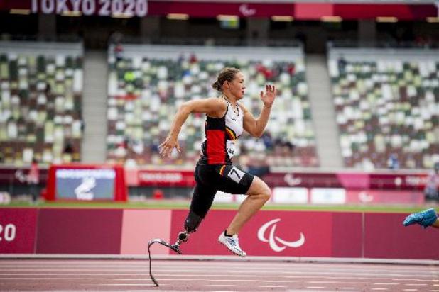 """Paralympische Spelen - Geen finale voor Gitte Haenen op de 100 meter: """"Kon slechte start niet meer goedmaken"""""""