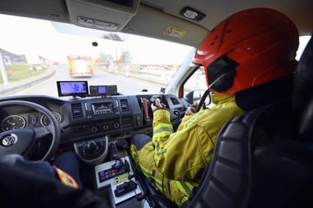 Les pompiers fortement sollicités en province de Liège