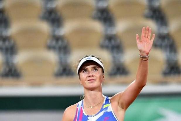 Elina Svitolina passe au 3e tour après un passage à vide