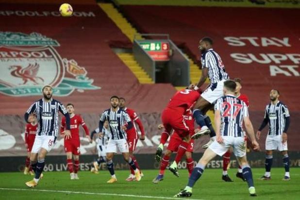 Belgen in het buitenland - West Bromwich Albion houdt Liverpool in bedwang