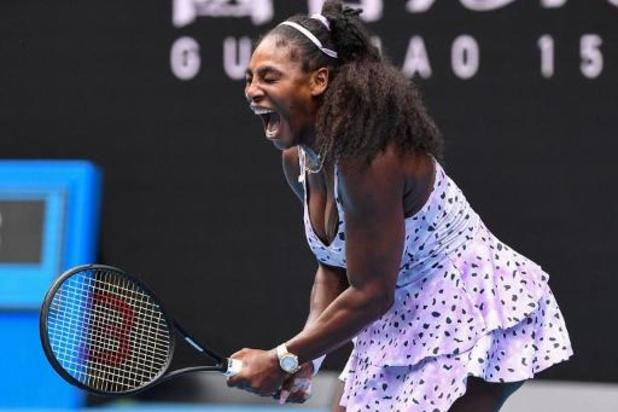 Serena Williams se qualifie pour le deuxième tour