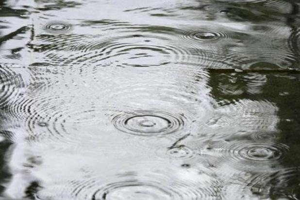 Intempéries - De fortes précipitations prévues samedi soir, l'IRM enclenche l'avertissement jaune