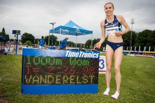 Nuit de l'athlétisme - Elise Vanderelst termine son programme pré-olympique par un record de Belgique sur 1.000m