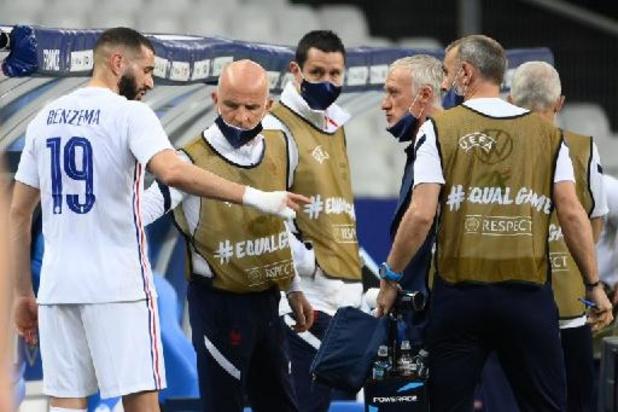 EK 2020 - Franse spits Benzema geraakt speelklaar voor openingsduel tegen Duitsland