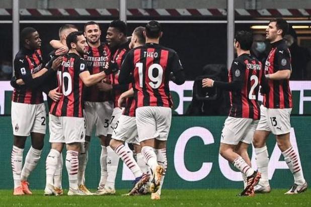 Belgen in het buitenland - AC Milan en Saelemaekers blijven leider na nipte zege tegen Lazio