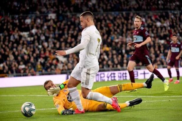 Les Belges à l'étranger - Le Real accroché par le Celta Vigo pour le retour d'Eden Hazard