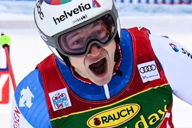 Marco Odermatt s'impose à Santa Caterina et met fin à la disette suisse en géant