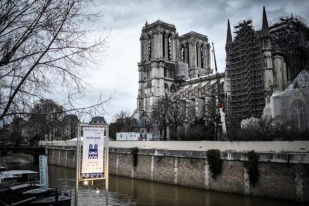 Incendie à Notre-Dame de Paris: aucune décision n'a encore été prise pour la flèche et la charpente
