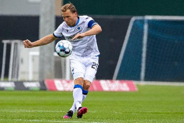 Geen Supercup voor Brugse aanvoerder Ruud Vormer na risicocontact