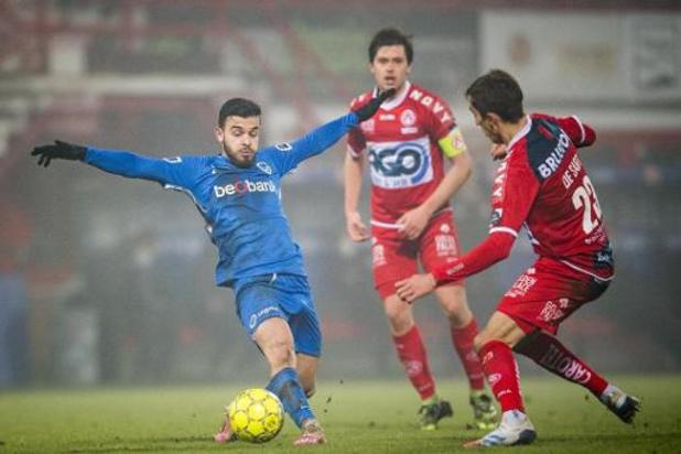 Jupiler Pro League - Genk chute à Courtrai, Eupen renoue avec le succès au Cercle de Bruges
