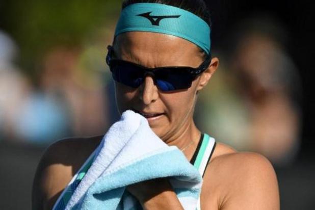"""Flipkens, les larmes aux yeux après son match contre Muchova: """"Cette défaite fait mal"""""""