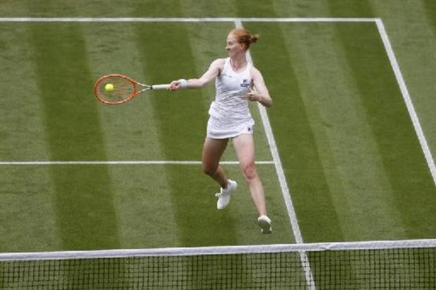 Alison Van Uytvanck kan op Wimbledon niet stunten tegen Svitolina